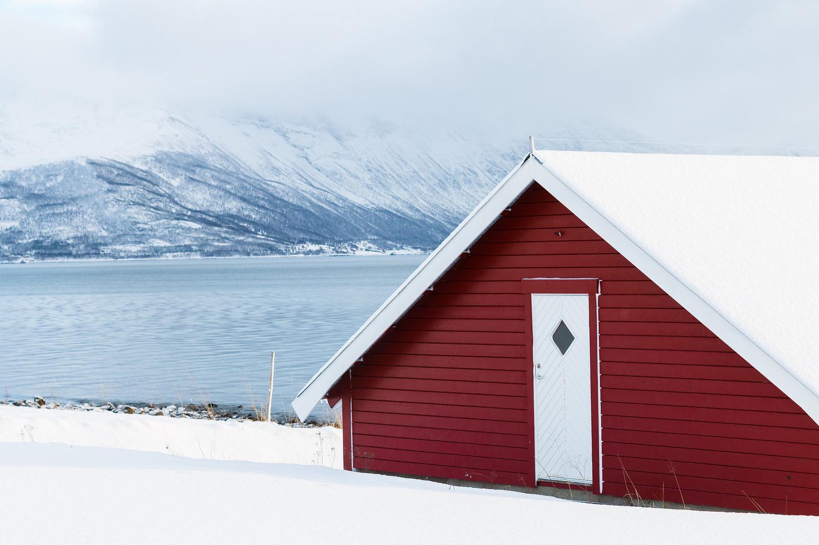 Randonnée à Tromso en Norvège.